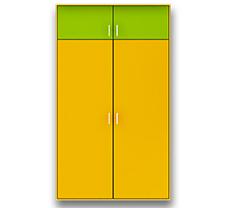Распашной шкаф двухстворчатый