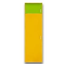 Распашной одностворчатый шкаф