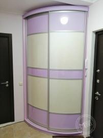 Радиусный шкаф купе