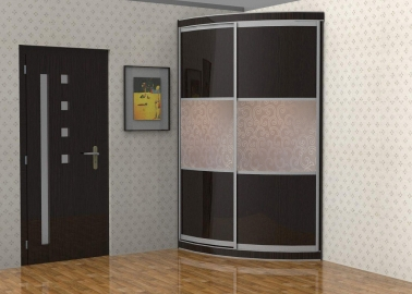Радиусный шкаф - купе