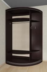 Радиусный шкаф - купе М12