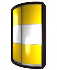 Радиусный шкаф - купе М4