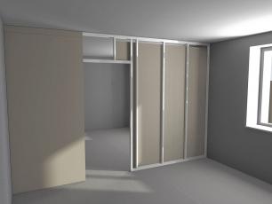 Межкомнатная дверь/перегородка БМ 13